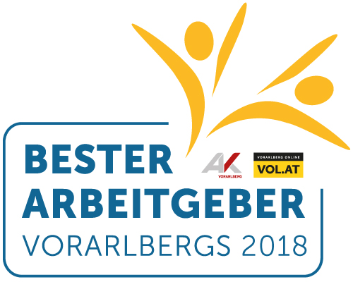 Bester Arbeitgeber Vorarlbergs 2018